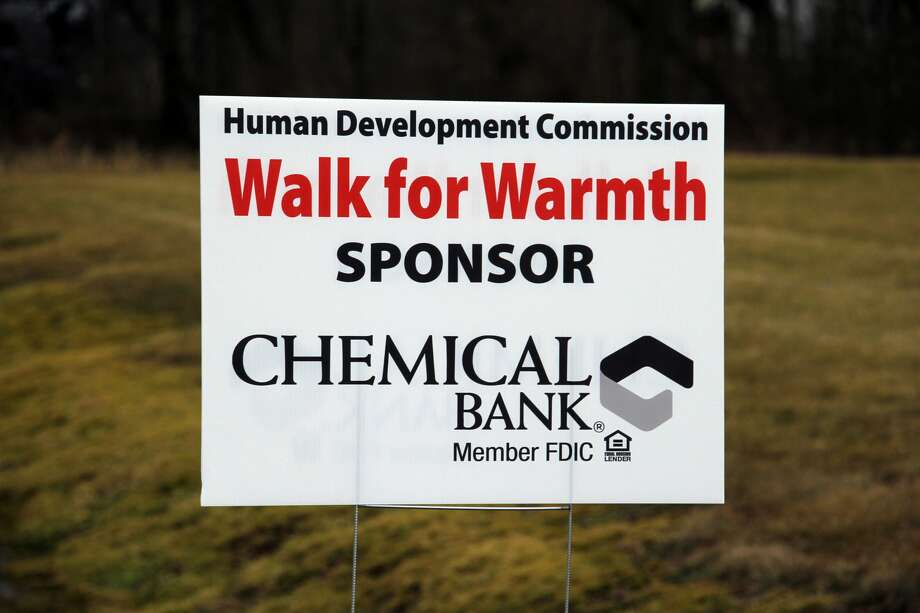 The Huron County Walk for Warmth took place Saturday morning in Bad Axe. Photo: Seth Stapleton/Huron Daily Tribune