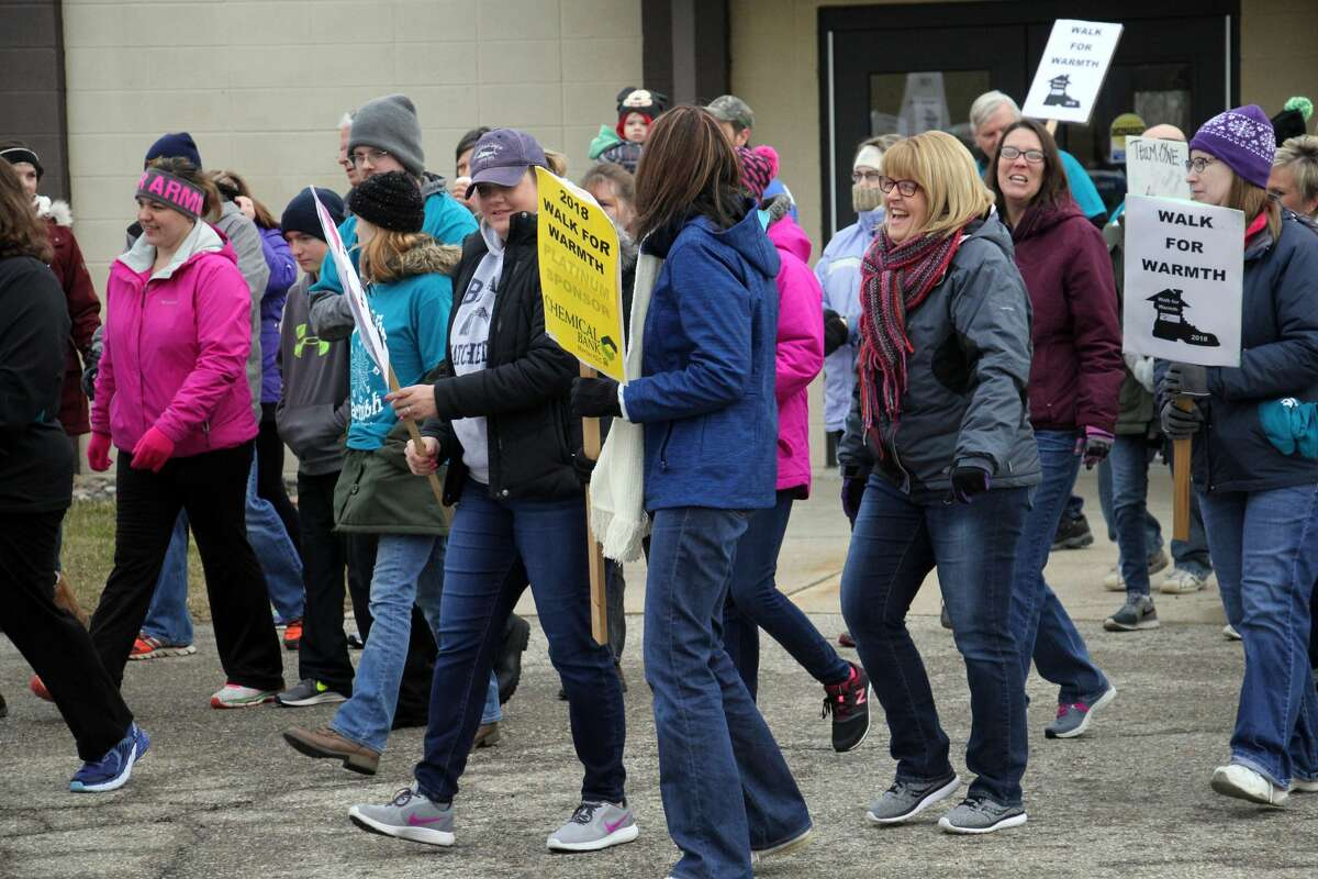 The Huron County Walk for Warmth took place Saturday morning in Bad Axe.