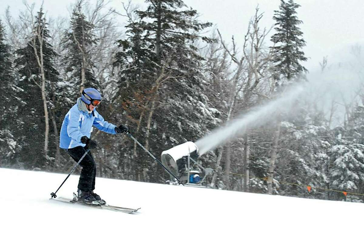 With all the snow coming, this could be a great weekend to hit the slopes. Check out the ski reports here. (Lori Van Buren / Times Union)