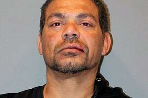 Brian Torres, 45, of Bridgeport, Conn., was charged on Feb. 24, 2018, with criminal possession of a firearm, weapons in a motor vehicle, second-degree breach of peace, first-degree threatening, third-degree intimidation based on bias and first-degree reckless endangerment.