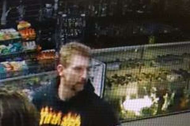 An image of the man suspected of stealing and cashing in lottery tickets in the North Bay.