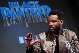 LONDON, ENGLAND - FEBRUARY 09: Director Ryan Coogler attends the 'Black Panther' BFI preview screening held at BFI Southbank on February 9, 2018 in London, England. (Photo by Jeff Spicer/Getty Images)