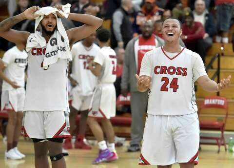 c6e425b126a2 Boys basketball  Notre Dame holds off Wilbur Cross in SCC ...