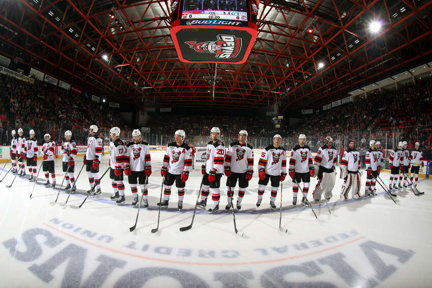 The American Hockey League's Devils are in their first seasons in Binghamton after a seven-year stay in Albany. (JustSports Photography / Binghamton Devils)