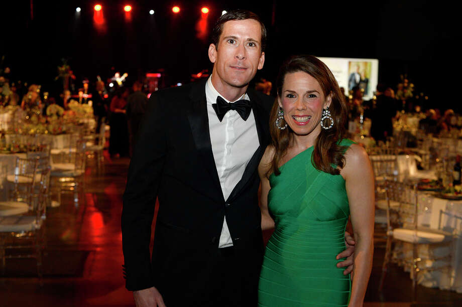 Greg and Ashley Messina at the American Heart Association's Heart Ball at the Beaumont Civic Center on Saturday night.  Photo taken Saturday 2/24/18 Ryan Pelham/The Enterprise Photo: Ryan Pelham / ©2017 The Beaumont Enterprise/Ryan Pelham