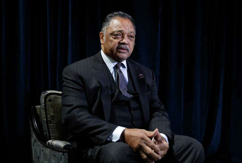 Rev. Jesse Jackson gave the keynote address at the Houston Community College Black History Scholarship Gala Saturday at The Ballroom at Bayou Place in Houston. Photo: Michael Wyke, Freelance / © 2018 Houston Chronicle