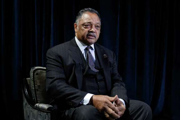 Rev. Jesse Jackson gave the keynote address at the Houston Community College Black History Scholarship Gala Saturday at The Ballroom at Bayou Place in Houston.