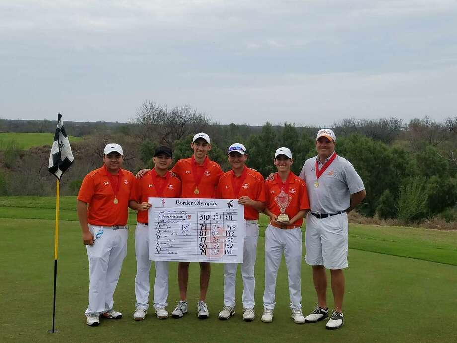 United improved by nine strokes Saturday finishing at 611 to win the Border Olympics title by one stroke. Photo: Courtesy Photo