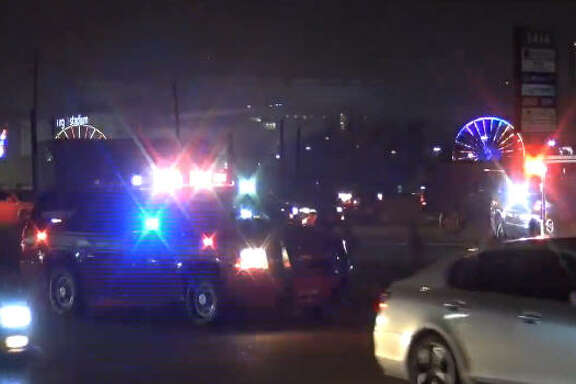 One person died late Saturday after a wreck on Loop 610.