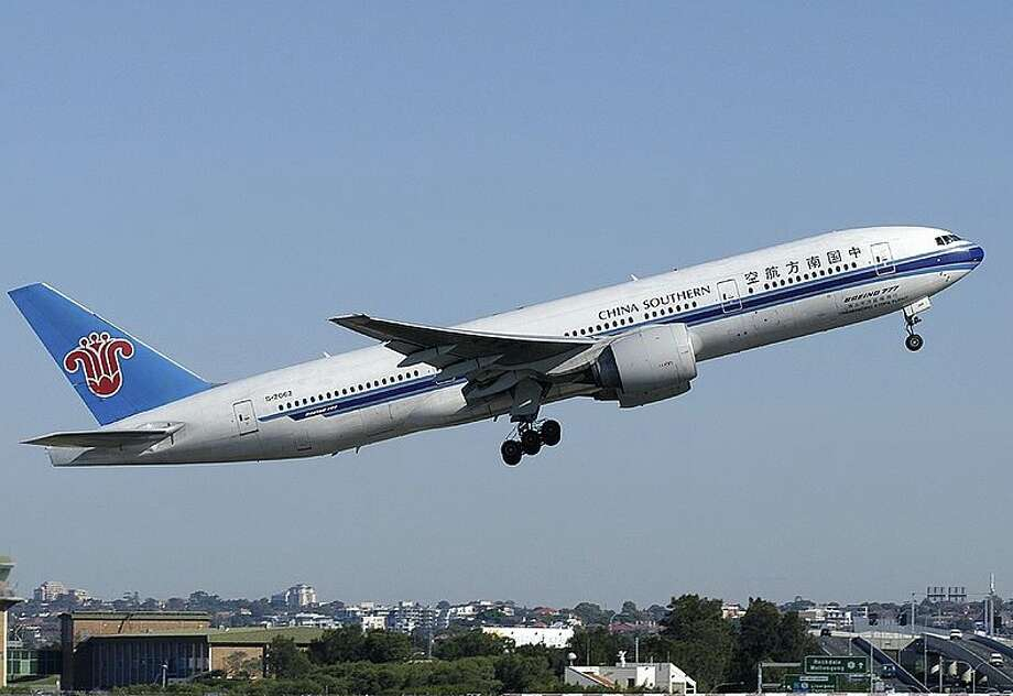 A China Southern Boeing 777 Photo: Grahame Hutchison / Wikimedia Commons