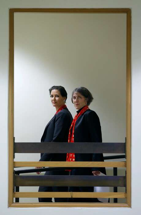 Oakland Mayor Libby Schaaf (left) and Police Chief Anne Kirkpatrick. Photo: Paul Chinn, The Chronicle