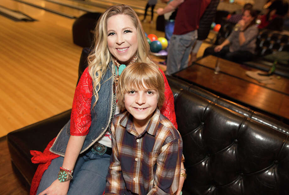 It was a night for some family fun at Bowl & Barrel, San Antonio's go-to bowling and dining spot for young urban creatives. Photo: B. Kay Richter  For MySA