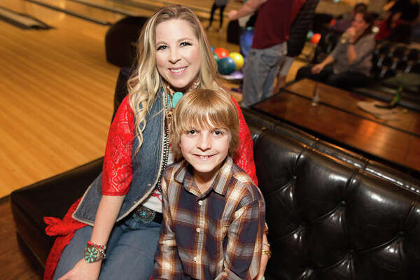 It was a night for some family fun at Bowl & Barrel, San Antonio's young urban creatives go-to for bowling and dining.