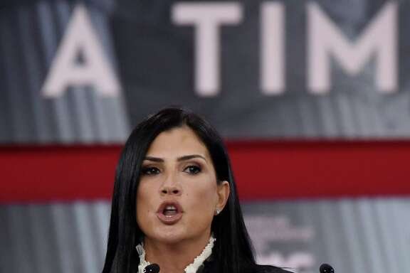 NRA spokeswoman Dana Loesch speaks during the Conservative Political Action Conference at the Gaylord National Resort and Convention Center on Friday, Feb. 22, 2018, in National Harbor, Md. Hosted by the American Conservative Union, CPAC is an annual gathering of right wing politicians, commentators and their supporters. (Olivier Douliery/Abaca Press/TNS)