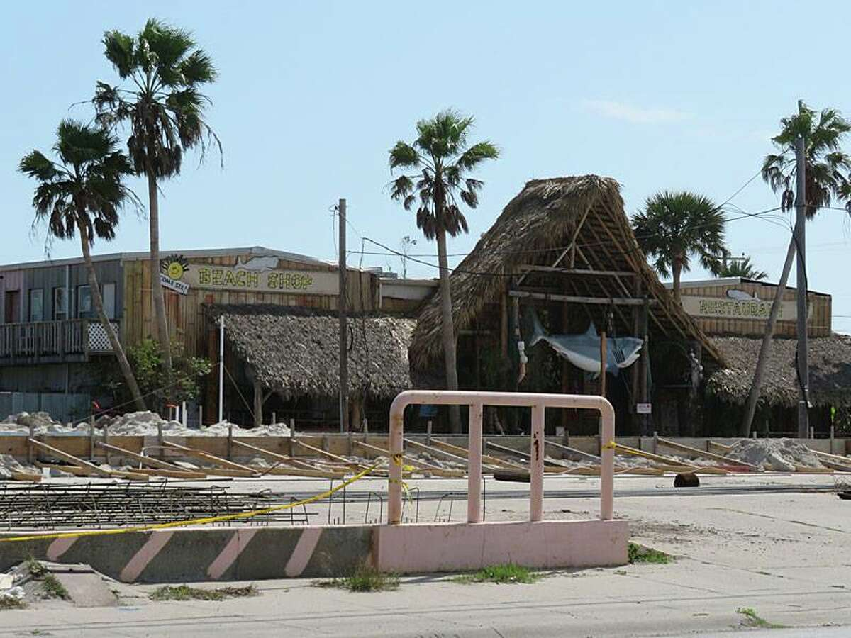 Nearly seven months after Hurricane Harvey devastated the Texas Gulf Coast, many popular tourist destinations continue struggling to make ready for the upcoming tourist season. These photos show Port Aransas in late February, 2018.
