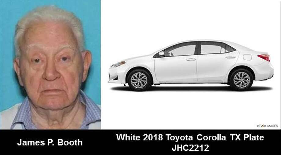 James Booth, 84, was driving a 2017 white Toyota Corolla.