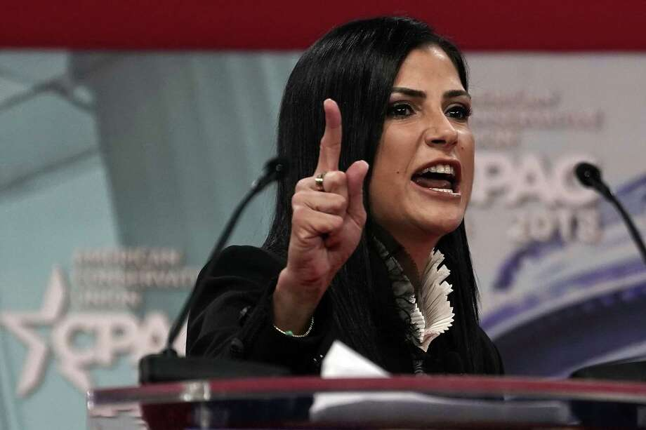 FILE: National Rifle Association (NRA) spokeswoman Dana Loesch speaks during CPAC 2018 February 22, 2018 in National Harbor, Maryland.  Photo: Alex Wong / 2018 Getty Images