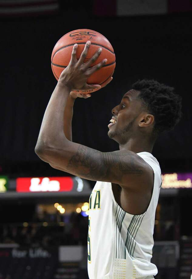 Siena's Kadeem Smithen takes a shot during a game against Marist on Thursday, Jan. 18, 2018, at the Times Union Center in Albany, N.Y. Siena defeated Marist 68-65. (Jenn March/Special to the Times Union) Photo: Jenn March / © Albany Times Union © Jenn March Photography