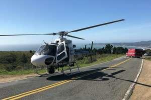 A California Highway Patrol helicopter unit rescued a 4-year-old boy near Stinson Beach Sunday.
