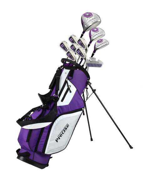 Precise Golf's complete set of clubs for women. Photo: Precise Golf