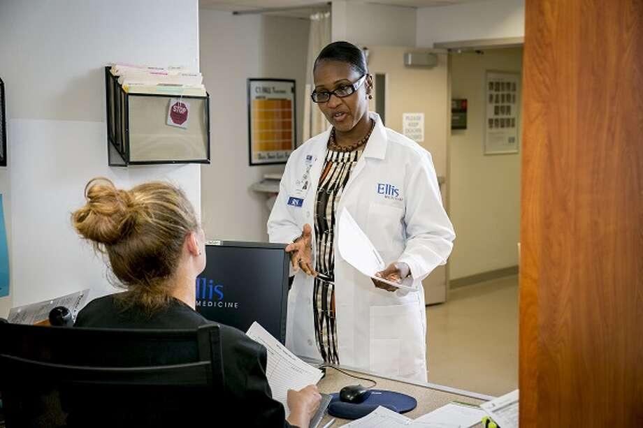 Leslyn Williamson, Vice President, Chief Nursing Officer, Ellis Medicine. (Photo provided) Photo: CMichael Hemberger/Photographer / 518-3819003