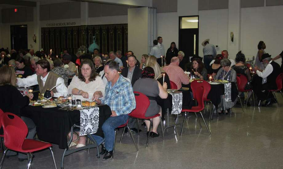 San Jacinto County citizens gather at the Jones Auditorium to celebrate the Best of San Jacinto County hosted by the Coldspring/San Jacinto County Chamber of Commerce on Feb. 24. Photo: Jacob McAdams
