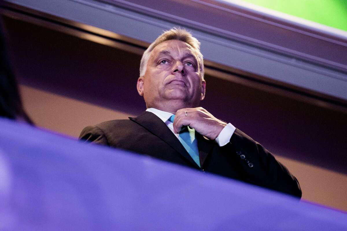 Hungarian Prime Minister Viktor Orban in Budapest, Hungary, on Aug. 28, 2017.