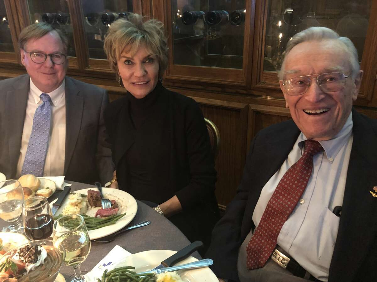 Top Hand: Jimmy and Barbara Leeton, from left, and Ed Magruder