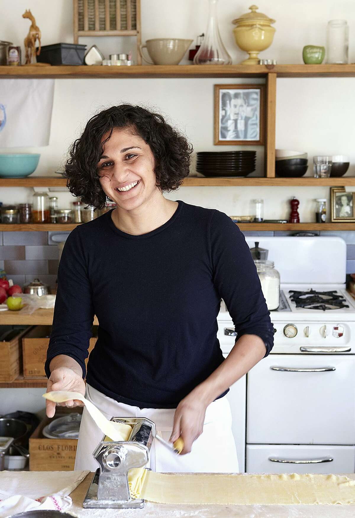 Pop-up cooking instructor Samin Nosrat (famously the woman who taught Michael Pollen to cook) is setting to work on her own book.