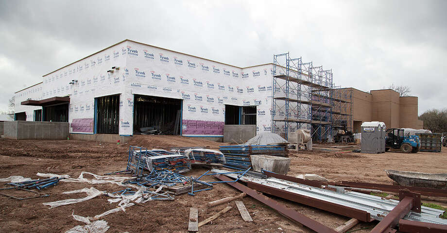 Construction crews have been hard at work on a new 18,000 square foot addition on the north side of Wharton County Junior College's Johnson Health Occupations Center. The addition is part of a two-phase project designed to expand the college's Allied Health programs and offer state-of-the-art training. Photo: Wharton County Junior College