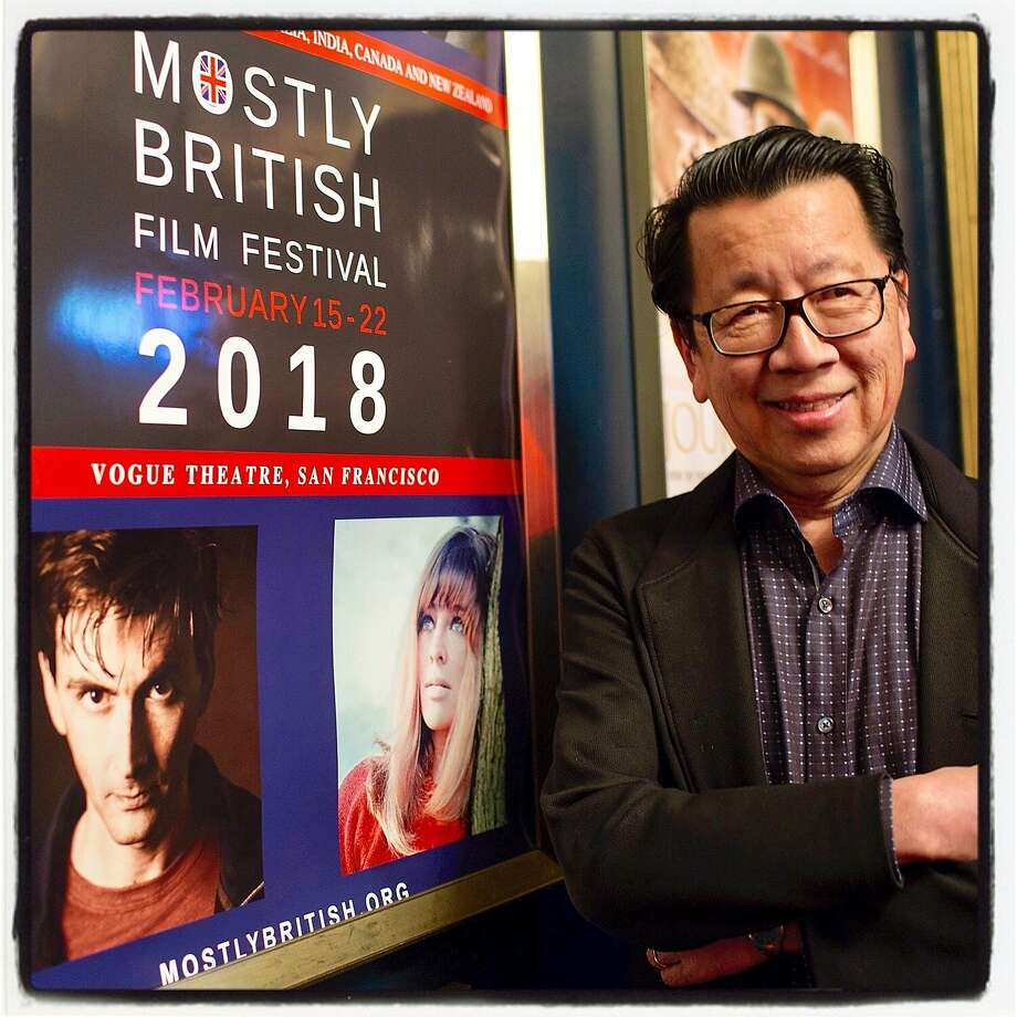 Rock critic and author Ben Fong-Torres at the Vogue Theatre for the Mostly British Film Festival. Photo: Pamela Gentile