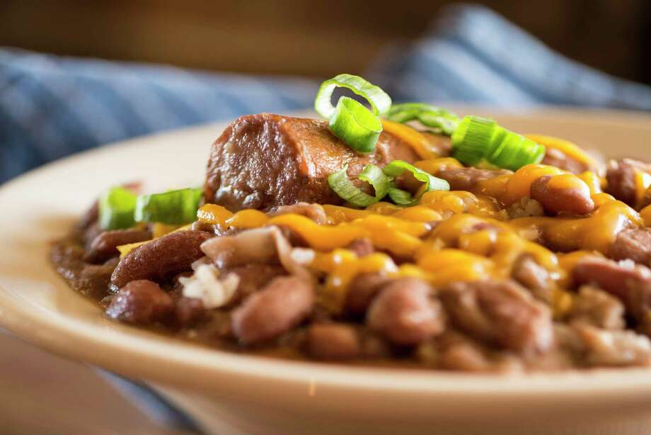 The red beans and rice at Treebeards. Photo: Treebeards / @Kevin McGowan Photography-HoustonTX