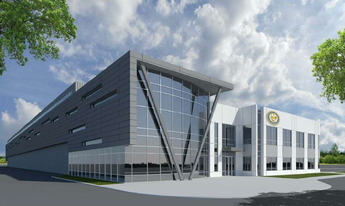 FCC Environmental Services, the solid waste management company overseeing Houston's recycling beginning in 2019, plans to build a recycling facility in Houston as part of its 20-year contract with the city. Rendering of the facility shown here.