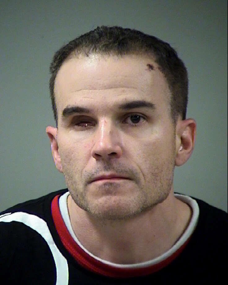 Tyler Anderson Freeman, 40, faces a charge of fraudulent use or possession of identifying information with intent to harm or defraud. He was booked into the Bexar County Jail and bailed out on Sunday. Photo: Bexar County Jail