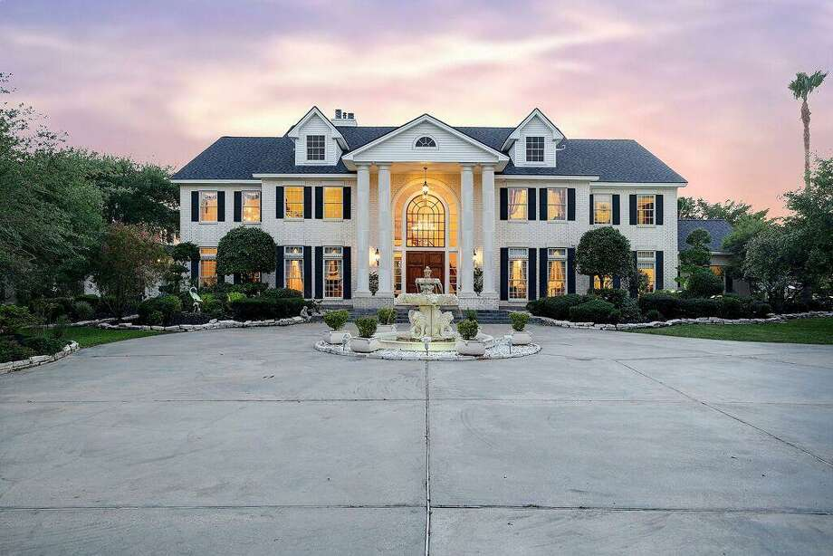 Baytown mansion for sale is like a secret paradise off for Castle style homes for sale