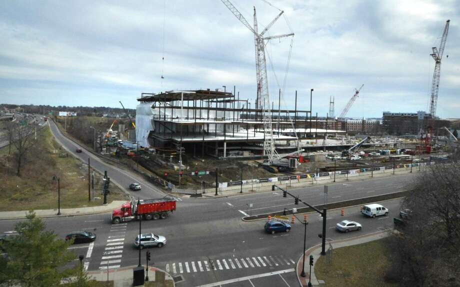 Construction Of The New Sono Collection Mall Continues On West Ave In Norwalk Conn