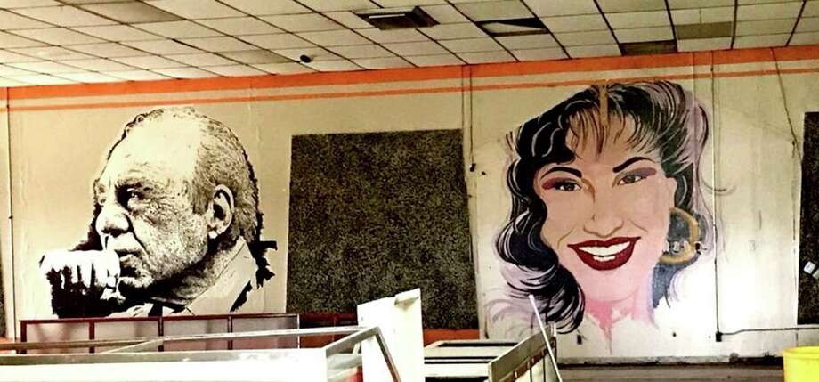 "Large-scale murals of three iconic U.S. Latino figures adorning the now-closed Estela's Mexican Restaurant on the city's West Side have been erased by the building's new owner, Delgado Funeral Home, sparking concern about the care of historic assets with the onset of new development.  The artworks depicted Congressman Henry B. Gonzalez, which the late lawmaker signed; Tejano star Selena Quintanilla; and Grammy Award-winning musician Flaco Jimenez.  Robert Salcido, president of the LGBTQ LULAC Council ""Orgullo de San Antonio,"" had reached out to owners to discuss the future of the artworks. But the murals already had been painted over before a potential solution could be discussed. Photo: Courtesy Louis Escareno, Courtesy Louis Escareno / Louis Escareno"