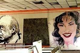 """Large-scale murals of three iconic U.S. Latino figures adorning the now-closed Estela's Mexican Restaurant on the city's West Side have been erased by the building's new owner, Delgado Funeral Home, sparking concern about the care of historic assets with the onset of new development.  The artworks depicted Congressman Henry B. Gonzalez, which the late lawmaker signed; Tejano star Selena Quintanilla; and Grammy Award-winning musician Flaco Jimenez.  Robert Salcido, president of the LGBTQ LULAC Council """"Orgullo de San Antonio,"""" had reached out to owners to discuss the future of the artworks. But the murals already had been painted over before a potential solution could be discussed."""