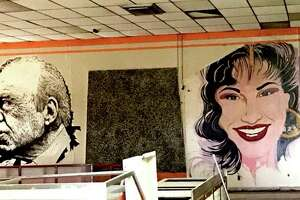 "Large-scale murals of three iconic U.S. Latino figures adorning the now-closed Estela's Mexican Restaurant on the city's West Side have been erased by the building's new owner, Delgado Funeral Home, sparking concern about the care of historic assets with the onset of new development.  The artworks depicted Congressman Henry B. Gonzalez, which the late lawmaker signed; Tejano star Selena Quintanilla; and Grammy Award-winning musician Flaco Jimenez.  Robert Salcido, president of the LGBTQ LULAC Council ""Orgullo de San Antonio,"" had reached out to owners to discuss the future of the artworks. But the murals already had been painted over before a potential solution could be discussed."