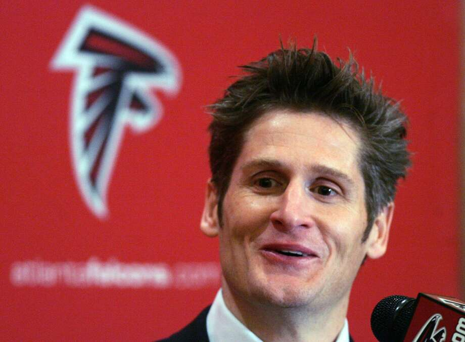 Well-steeped in the Patriot Way, Thomas Dimitroff had immediate success in Atlanta but endured some lean years before the franchise's recent resurgence. Photo: John Bazemore/AP