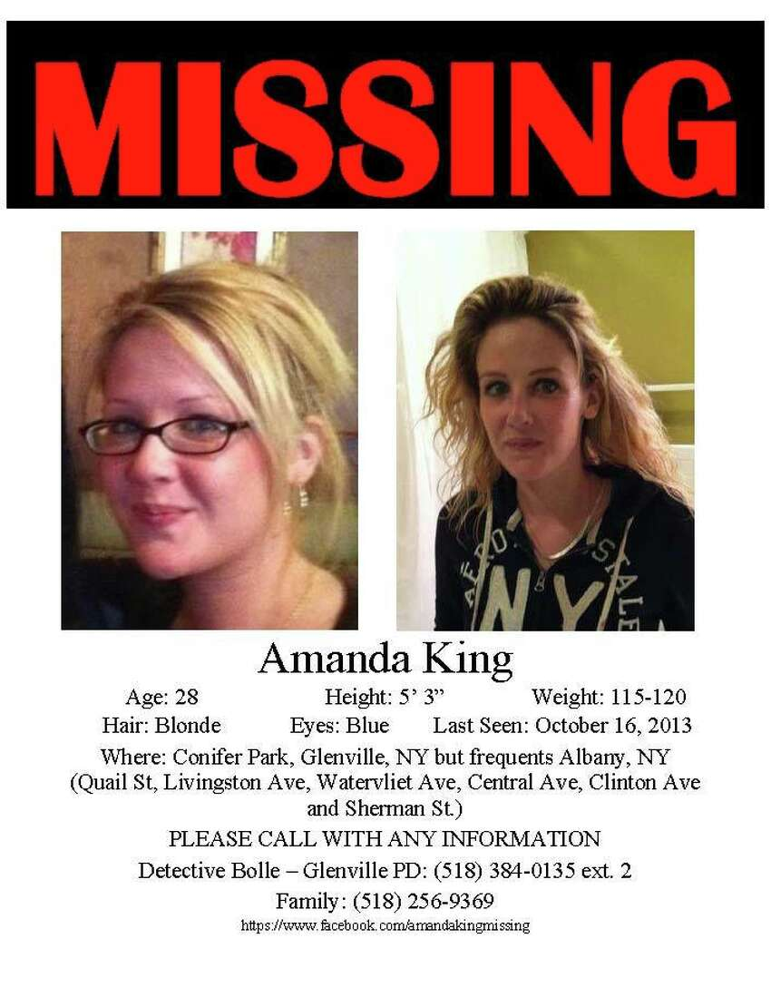 Amanda King went missing in October 2013.