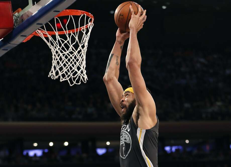Golden State Warriors center JaVale McGee. Photo: Kathy Willens, Associated Press