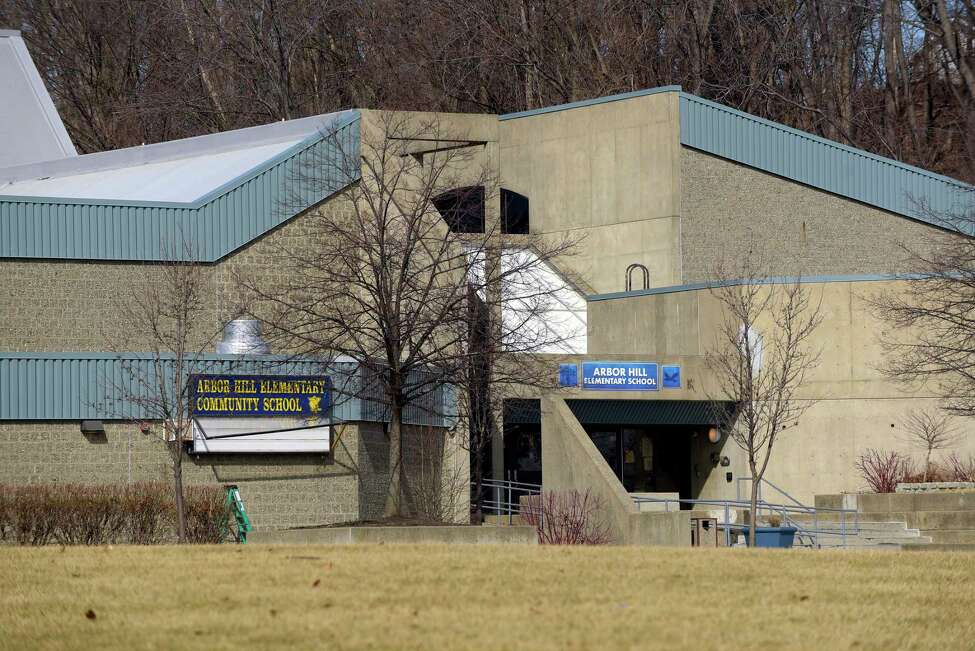 A view of the Arbor Hill Elementary School on Monday, Feb. 26, 2018, in Albany, N.Y. (Paul Buckowski/Times Union)