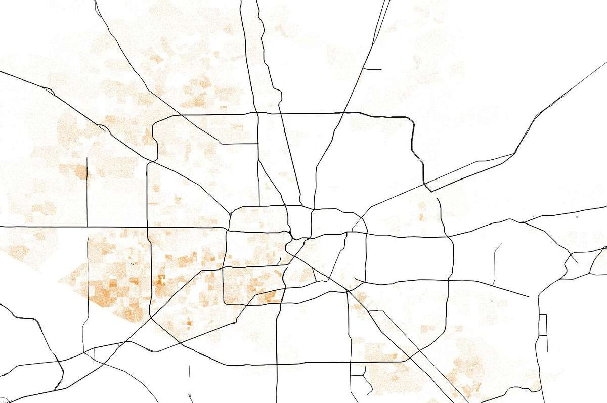 Houston's Asian residents are mostly found in west Houston and northwest Houston, according to U.S. Census American Survey estimates.