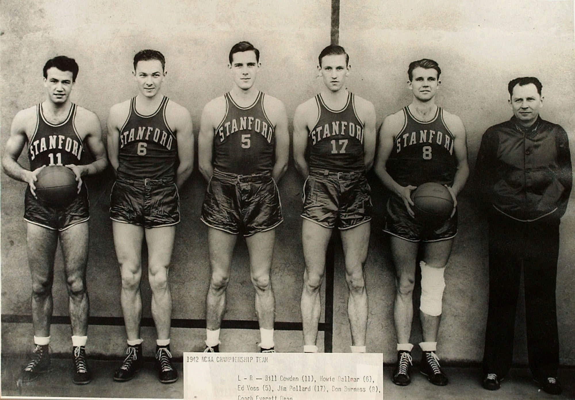 March 28, 1942: Stanford wins NCAA men's basketball title ...