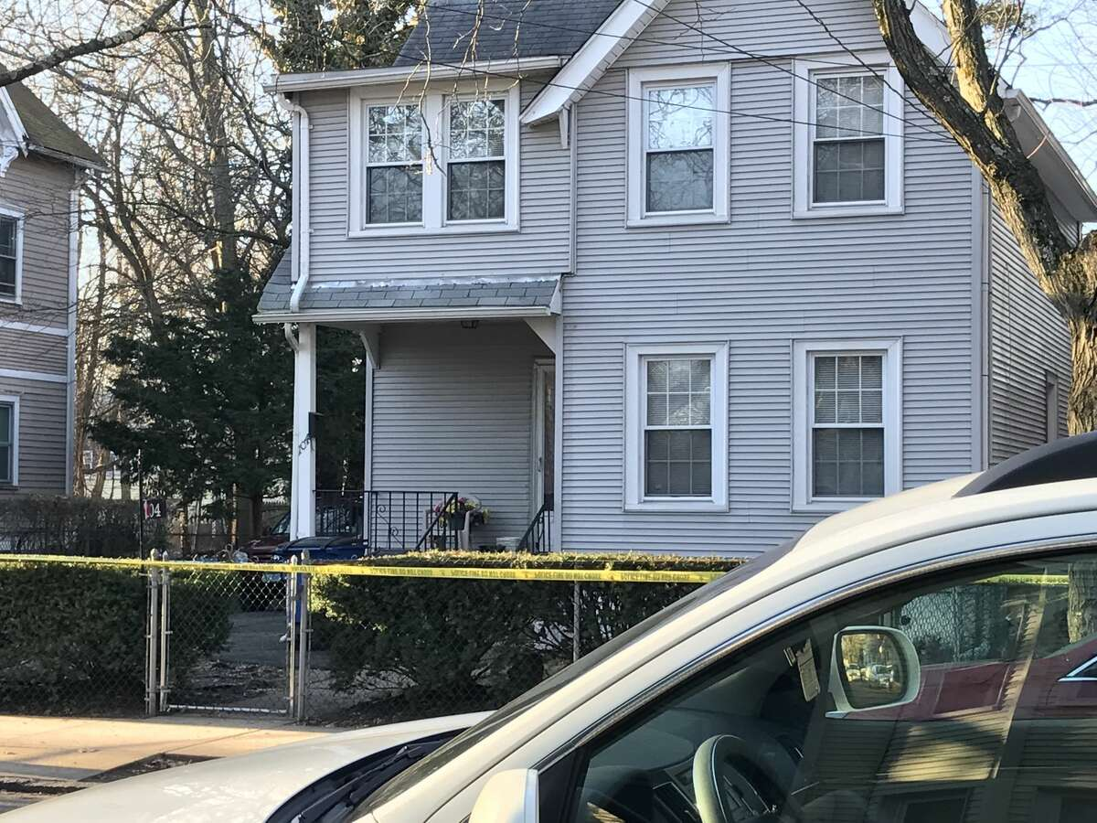 New Haven police are at the scene of a fatal stabbing that occurred on Ivy Street on Tuesday Feb. 27, 2018. A portion of the road is closed off.