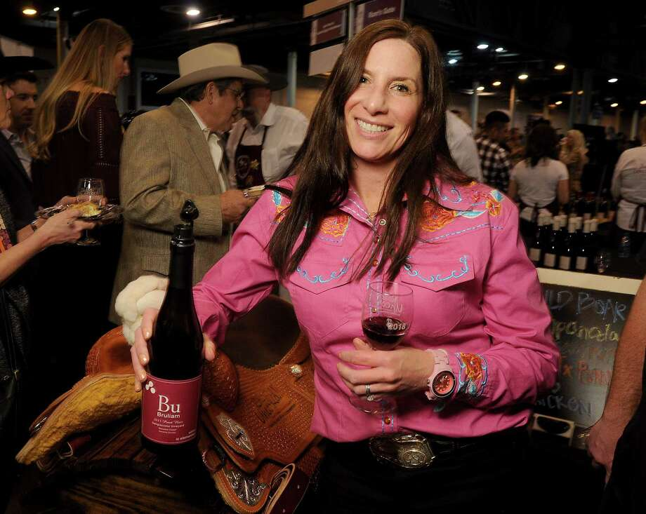 Kerith Overstreet's 2015 Bu Bruliam Sangiacomo Vineyard pinot noir earned a double-gold medal at the Rodeo Uncorked! event. Photo: Dave Rossman, Freelance / Dave Rossman