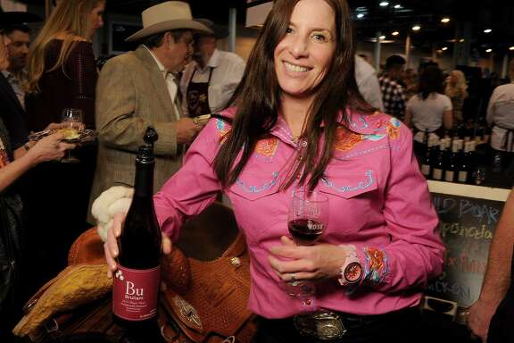 Kerith Overstreet's 2015 Bu Bruliam Sangiacomo Vineyard pinot noir earned a double-gold medal at the Rodeo Uncorked! event.