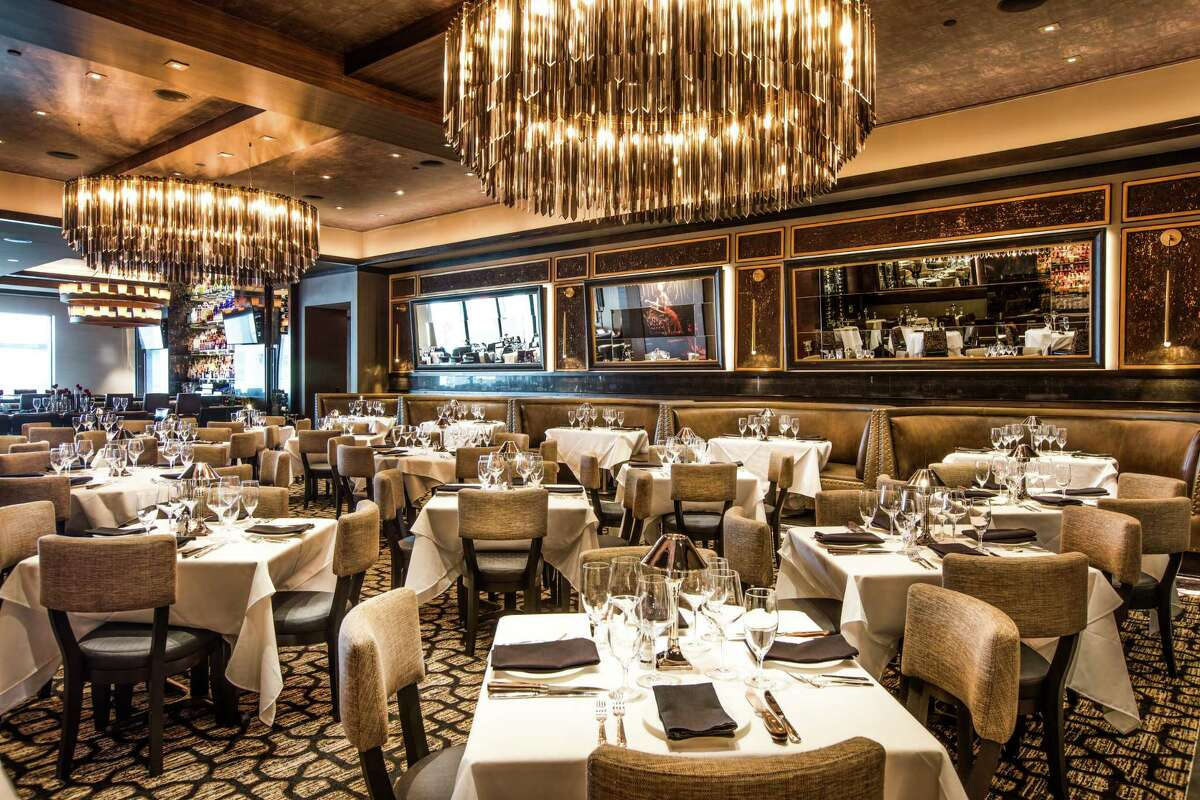 Details from Mastro's Steakhouse, a new restaurant at The Post Oak.