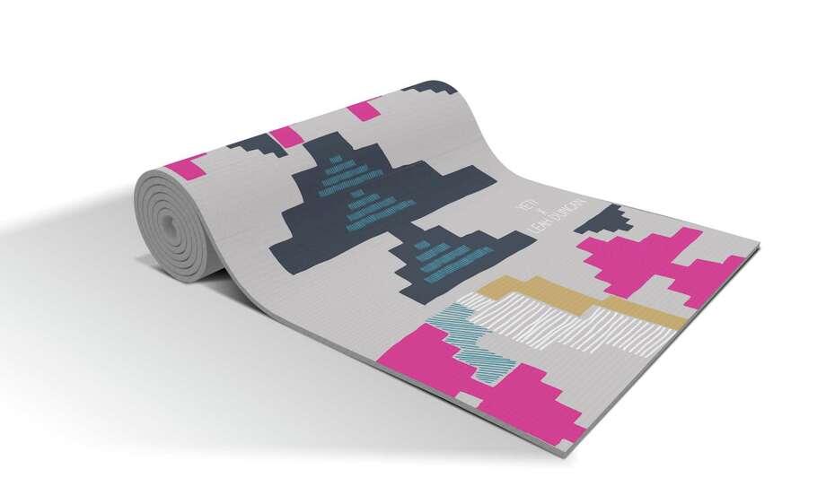 Austin artist Leah Duncan has collaborated on yoga mats for Yeti Yoga Co. in three prints: hamsa, bird and geometric. $59.99; yetiyogaco.com Photo: Yeti Yoga Co.